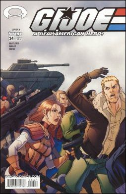 G.I. Joe (2001) 24-B by Devil's Due