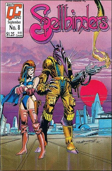 Spellbinders (1986) 8-A by Quality Comics
