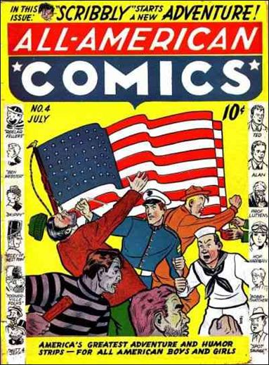 All-American Comics (1939) 4-A by DC
