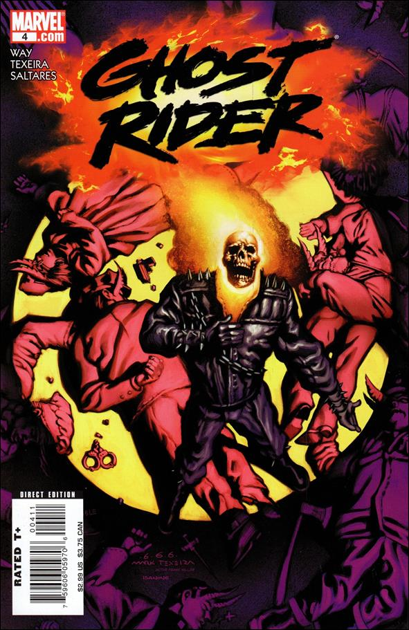 Ghost Rider (2006) 4-A by Marvel
