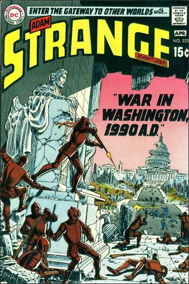 Strange Adventures (1950) 223-A by DC