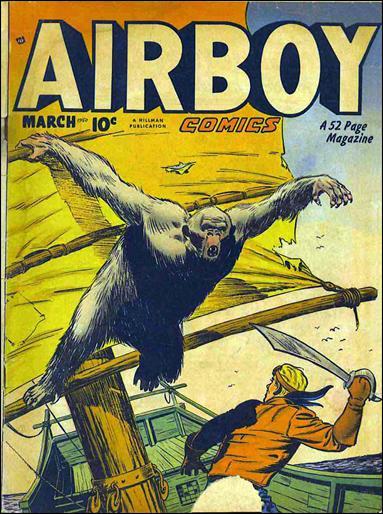 Airboy Comics (1950) 2-A by Hillman