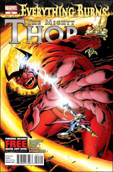 Mighty Thor 21-A by Marvel