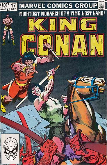 King Conan 17-A by Marvel