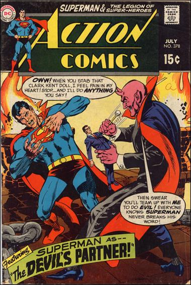 Action Comics (1938) 378-A by DC