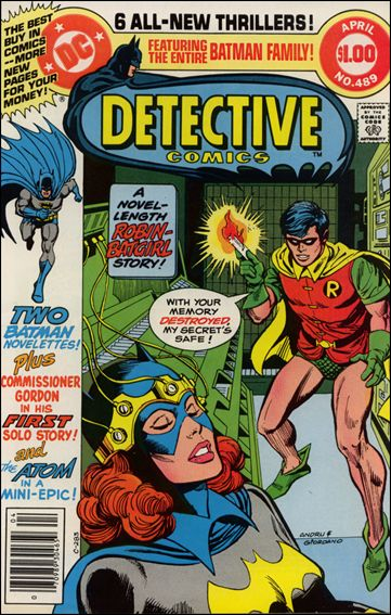 Detective Comics (1937) 489-A by DC