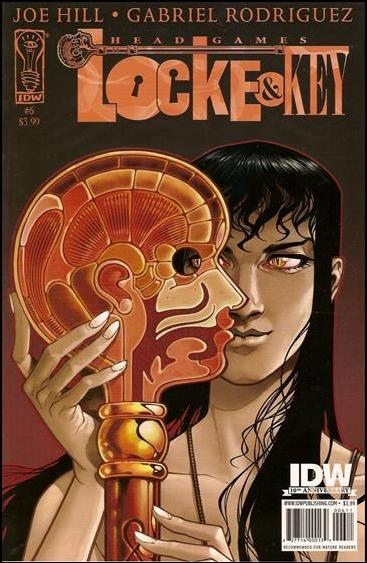 Locke & Key: Head Games 6-A by IDW