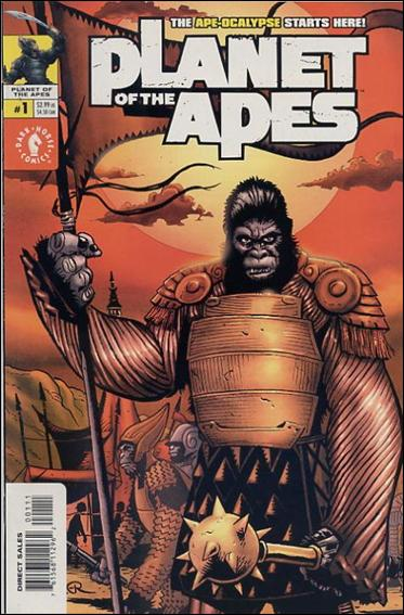 Planet of the Apes (2001/09) 1-A by Dark Horse