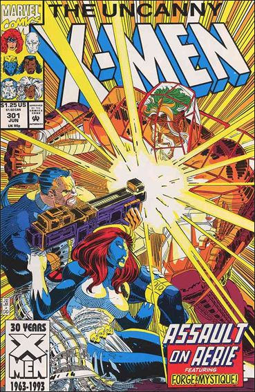 Uncanny X-Men (1981) 301-A by Marvel