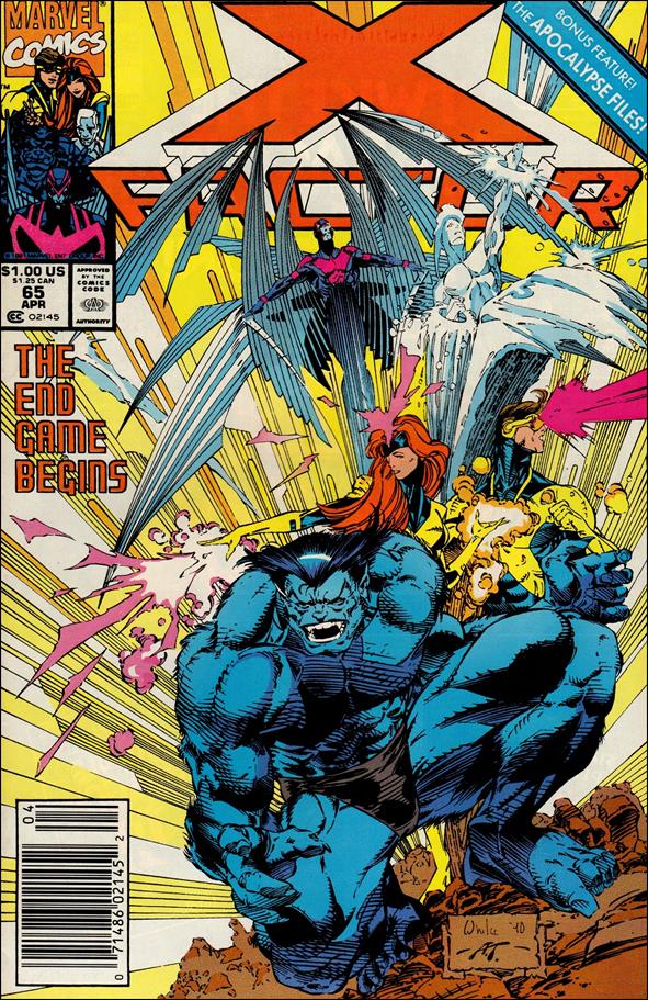 X-Factor (1986) 65-A by Marvel