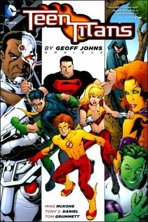 Teen Titans Omnibus by Geoff Johns 1-A by DC