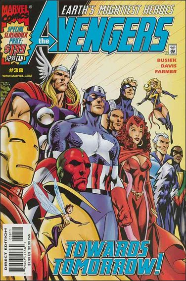 Avengers (1998) 38-A by Marvel