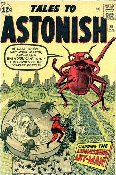 Tales to Astonish (1959) 39-A by Marvel