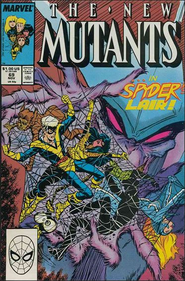 New Mutants (1983) 69-A by Marvel