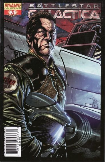 Battlestar Galactica (2006) 3-A by Dynamite Entertainment