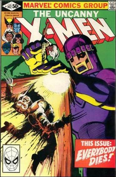 Uncanny X-Men (1981) 142-A by Marvel