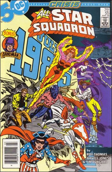 All-Star Squadron 55-A by DC