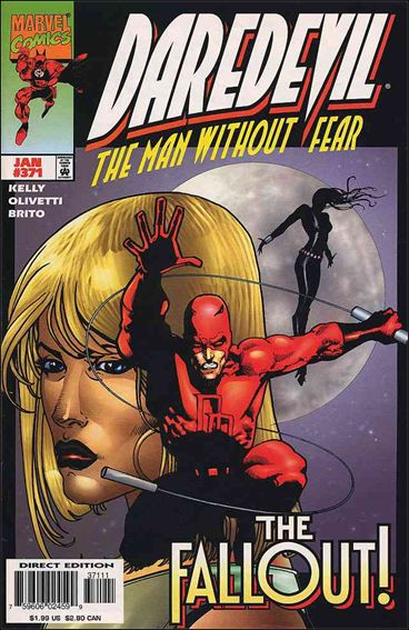 Daredevil (1964) 371-A by Marvel