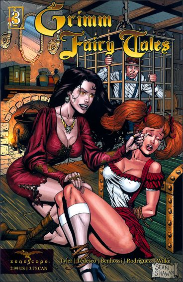 Grimm Fairy Tales 3-B by Zenescope Entertainment