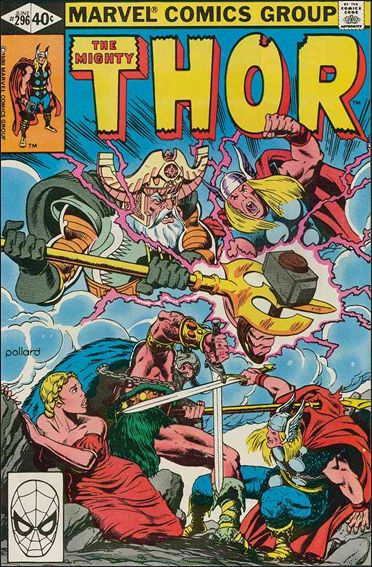 Thor (1966) 296-A by Marvel