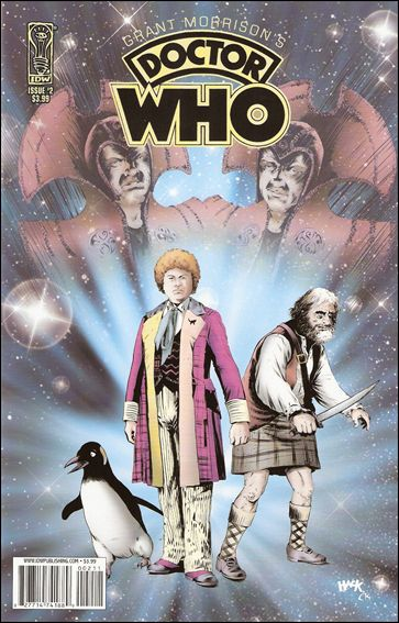 Grant Morrison's Doctor Who 2-A by IDW