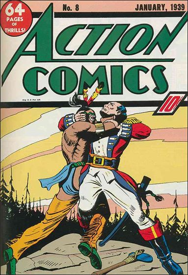 Action Comics (1938) 8-A by DC