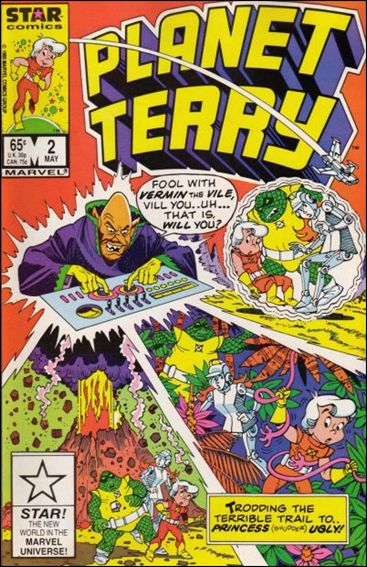 Planet Terry 2-A by Star