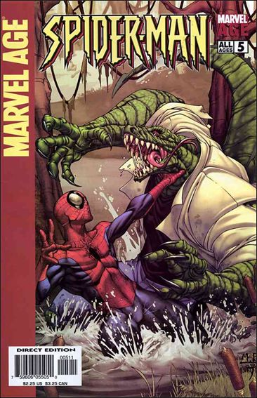 Marvel Age: Spider-Man 5-A by Marvel