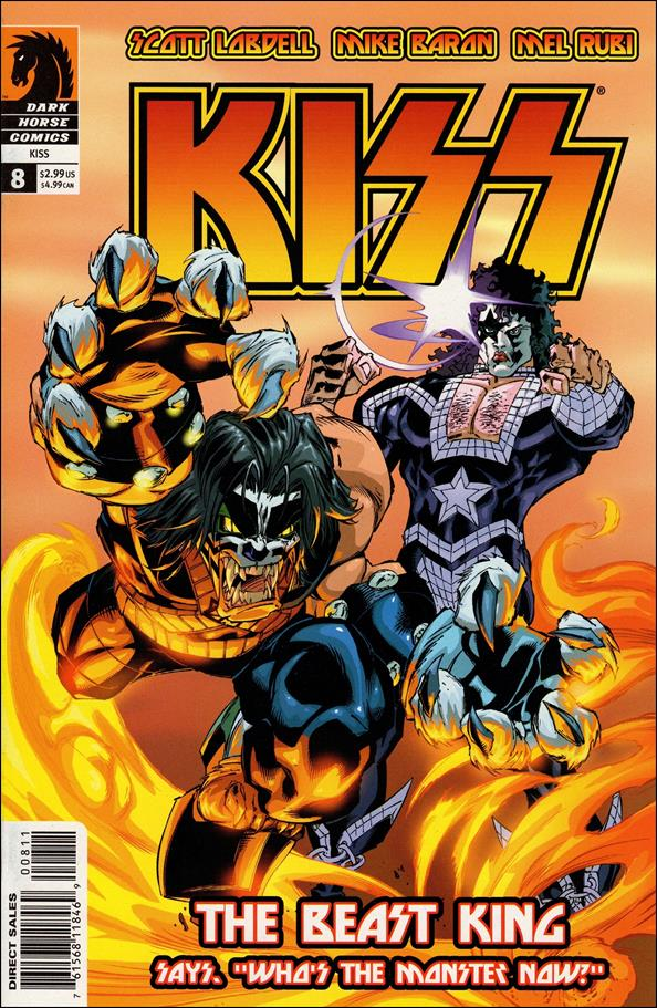 Kiss (2002) 8-A by Dark Horse
