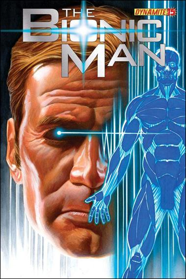 Bionic Man 15-A by Dynamite Entertainment