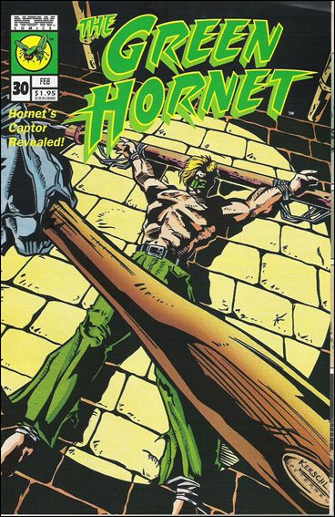 Green Hornet (1991) 30-A by Now Comics