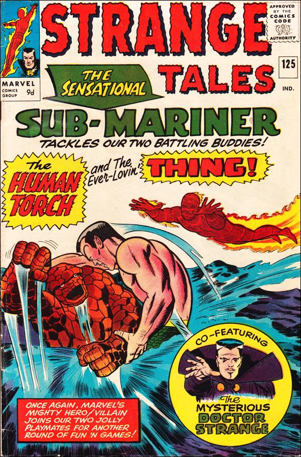 Strange Tales (1951) 125-B by Marvel