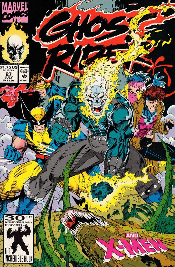 Ghost Rider (1990) 27-A by Marvel