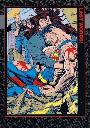Doomsday: The Death of Superman (Base Set) 87-A by SkyBox