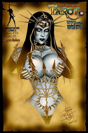 Tarot: Witch of the Black Rose 54-D by BroadSword Comics