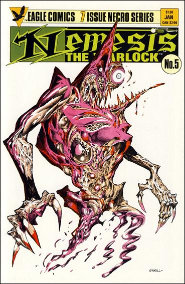 Nemesis the Warlock (1984) 5-A by Eagle
