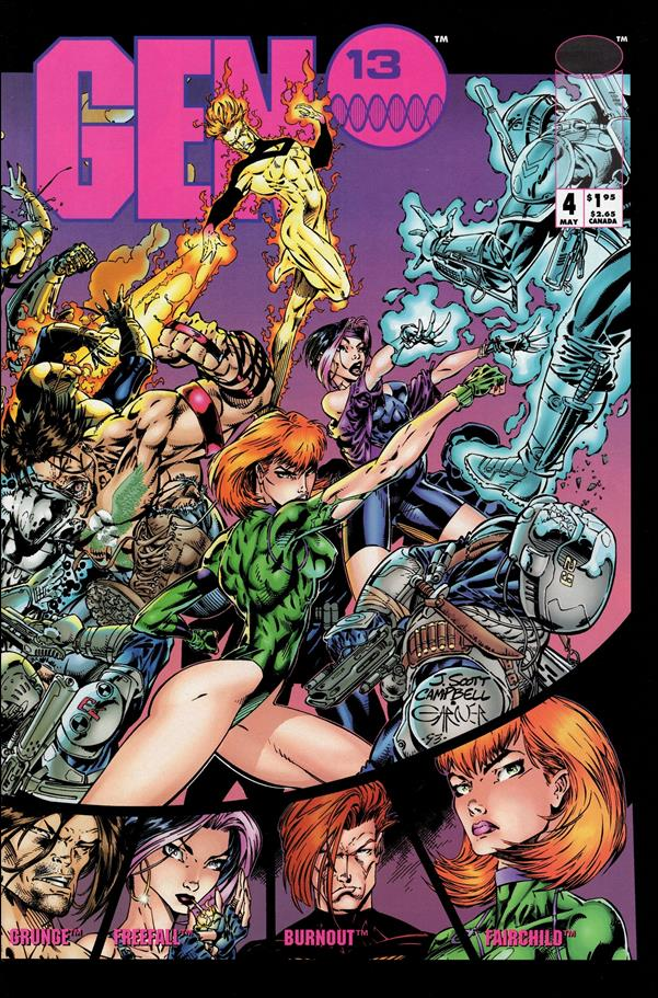 Gen13 (1994) 4-A by Image