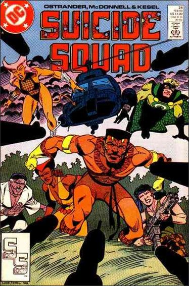 Suicide Squad (1987) 24-A by DC