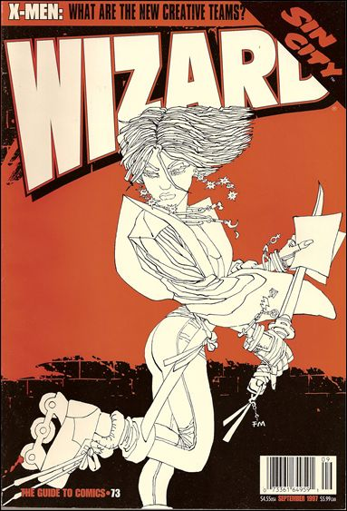 Wizard: The Guide to Comics 73-B by Wizard Press