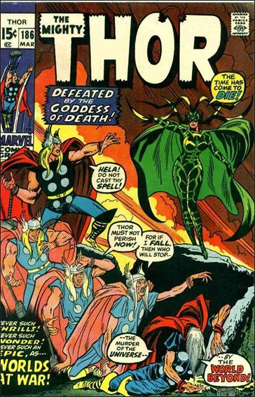 Thor (1966) 186-A by Marvel