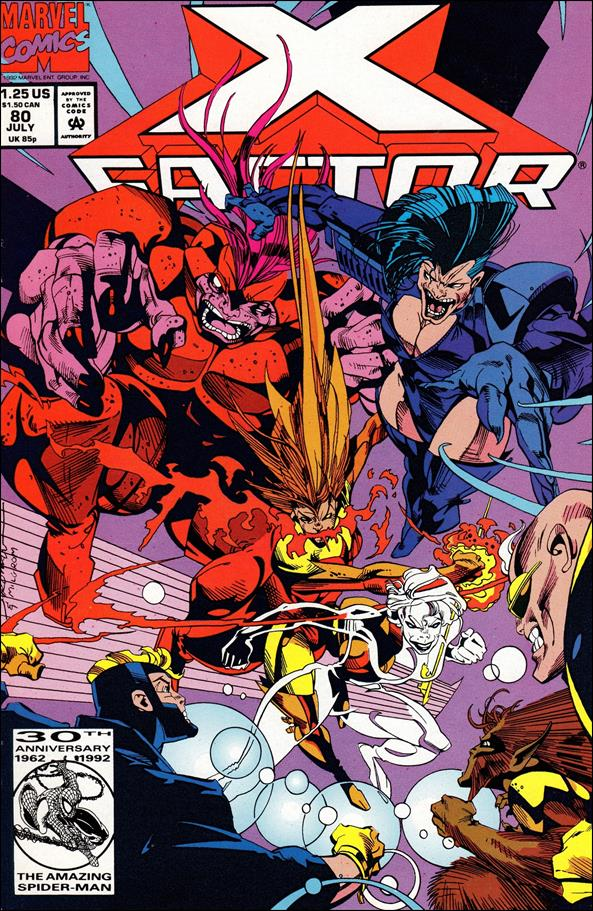 X-Factor (1986) 80-A by Marvel
