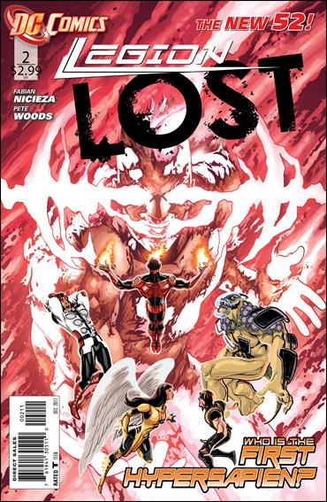 Legion Lost (2011) 2-A by DC
