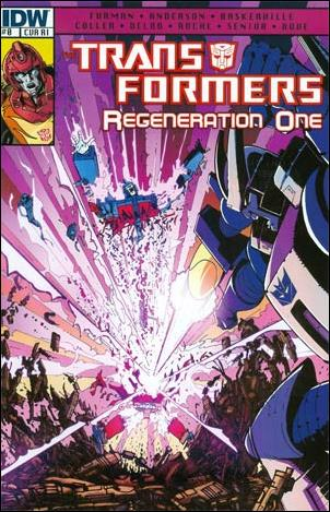 Transformers: Regeneration One 0-C by IDW