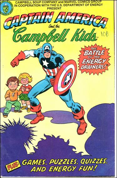 Captain America and the Campbell Kids 1-A by Marvel