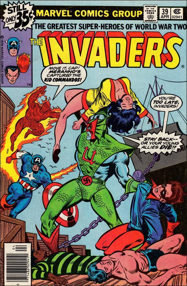 Invaders (1975) 39-A by Marvel