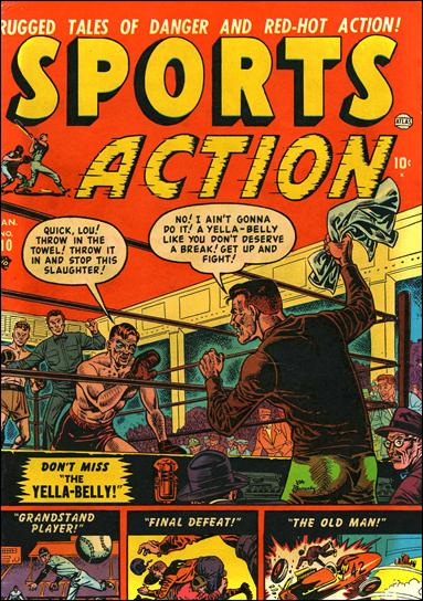 Sports Action 10-A by Marvel