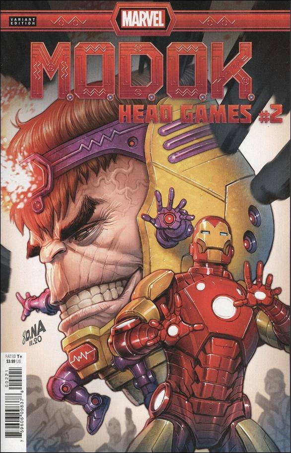 M.O.D.O.K.: Head Games 2-B by Marvel