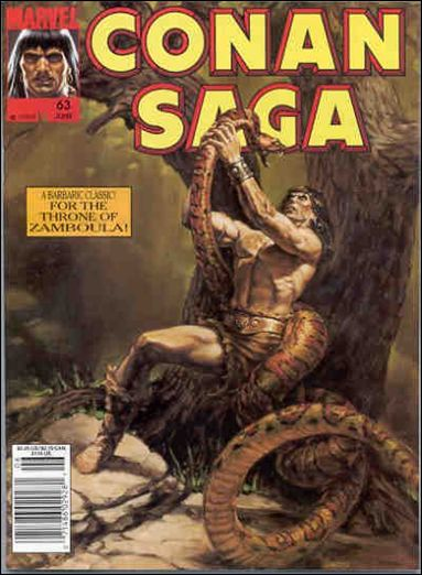 Conan Saga 63-A by Marvel