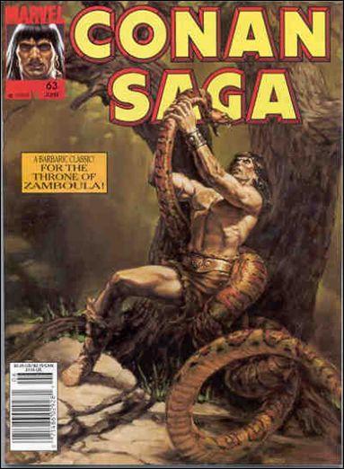 Conan Saga 63-A by Marvel