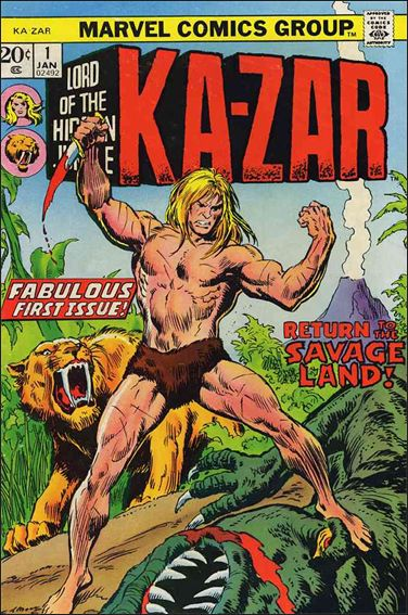 Ka-Zar (1974) 1-A by Marvel
